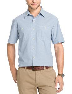 Arrow Men's Big & Tall Chambray Sport Shirt