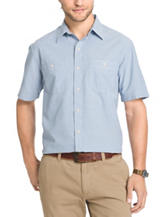 Arrow Men's Big & Tall Chambray Sport Shirt