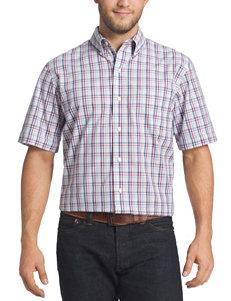 Arrow Men's Big & Tall Hamilton Poplin Sport Shirt