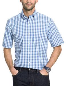Arrow Cobalt Casual Button Down Shirts