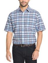 Arrow Men's Big & Tall Sea Jack Seersucker Sport Shirt