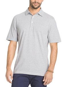 Arrow Men's Big & Tall Yard Striped Polo Shirt