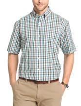 Arrow Men's Big & Tall Poplin Sport Shirt