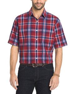 Arrow Men's Big & Tall Rosewood Seersucker Sport Shirt