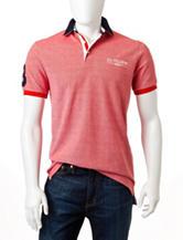 U.S. Polo Assn. Solid Color Pin Check Polo Shirt