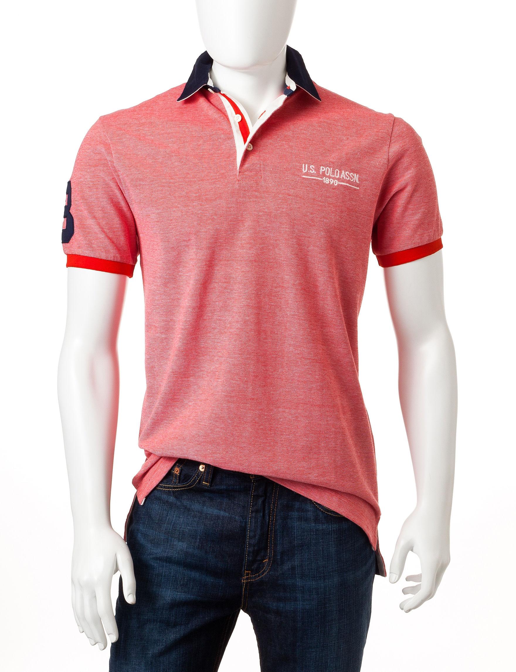 U.S. Polo Assn. Crimson Polos