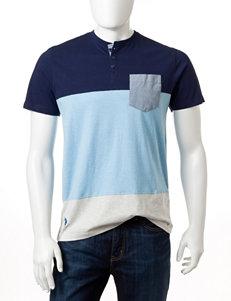 U.S. Polo Assn. Color Block Henley Shirt