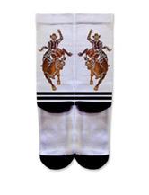 Icon Bareback Rider Fashion Crew Socks