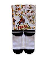 Icon Vintage Texas Fashion Crew Socks