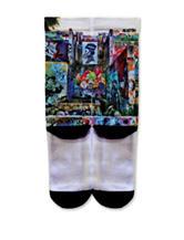 Icon Graffiti Park Fashion Crew Socks