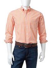 Dockers® Gingham Print Woven Sport Shirt