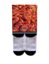 Icon Crawfish Fashion Crew Socks