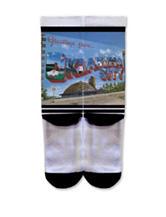 Icon Greetings From OK City Fashion Crew Socks