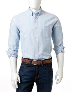 Dockers Cerulean Casual Button Down Shirts
