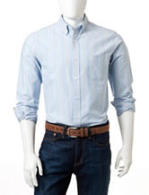Dockers® Light Blue Pinstriped Woven Shirt
