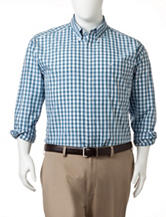 Dockers® Men's Big & Tall Gingham Print Woven Sport Shirt