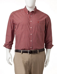 Dockers Men's Big & Tall Colonial Plaid Woven Sport Shirt