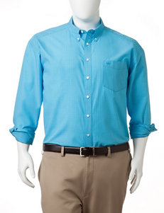 Dockers Mens Big & Tall Mini-Windowpane Woven Shirt