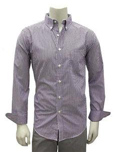 Chase Edward Purple Casual Button Down Shirts