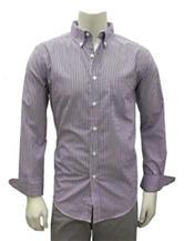 Chase Edward Stripe Print Woven Shirt
