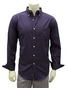 Chase Edward Purple Woven Shirt