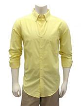 Chase Edward Yellow Woven Shirt