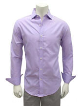 Chase Edward Solid Color Woven Shirt
