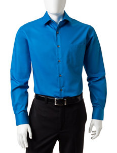 Van Heusen Solid Color Fitted Dress Shirt