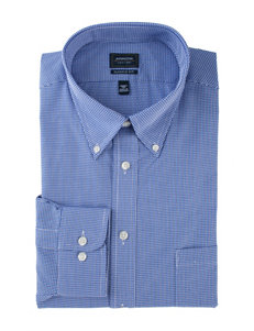Arrow Ultra Blue Check Print Dress Shirt