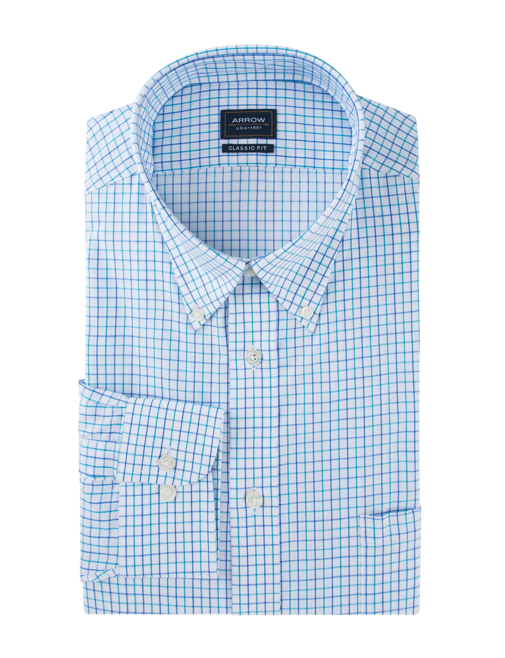 Arrow Blue Dress Shirts