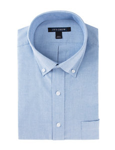 Ivy Crew Solid Color Oxford Dress Shirt