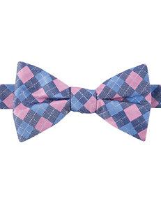Arrow Argyle Square Bow Tie