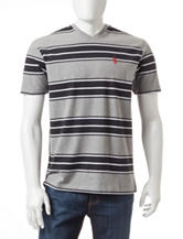 U.S. Polo Assn. Multi Striped T-shirt