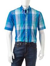 Sun River Check Print Woven Shirt