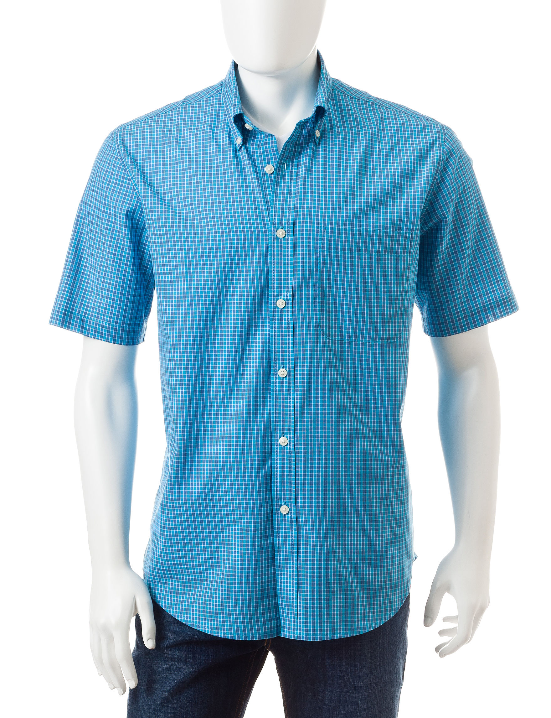 Sun River Delft Casual Button Down Shirts