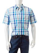 Sun River Box Check Print Woven Shirt