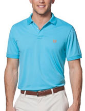 Chaps Light Blue Performance  Polo Shirt
