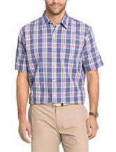 Arrow Sea Jack Plaid Print Woven Shirt
