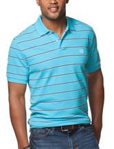 Chaps Multicolor Striped Print Polo Shirt