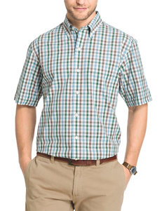 Arrow Smoke Pine Casual Button Down Shirts