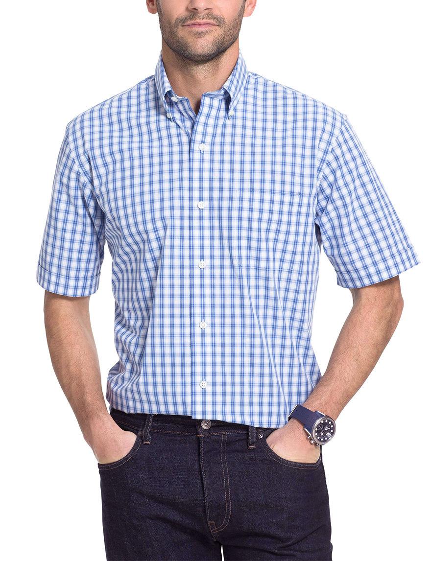 Arrow Cobalt Blue Casual Button Down Shirts