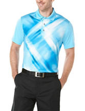 PGA Tour Diffused Print Polo Shirt
