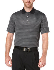 PGA Tour® Mini Jacquard Print Polo Shirt