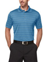 PGA Tour® Striped Print Airflux Polo Shirt