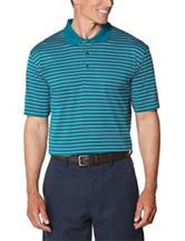 Jack Nicklaus Striped Print Stay-Dri Polo Shirt