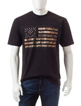 Realtree® Camo Flag Graphic T-shirt