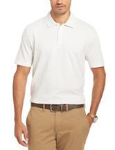 Van Heusen Jacquard Knit Polo Shirt
