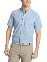 Izod Easy Care Striped Woven Shirt