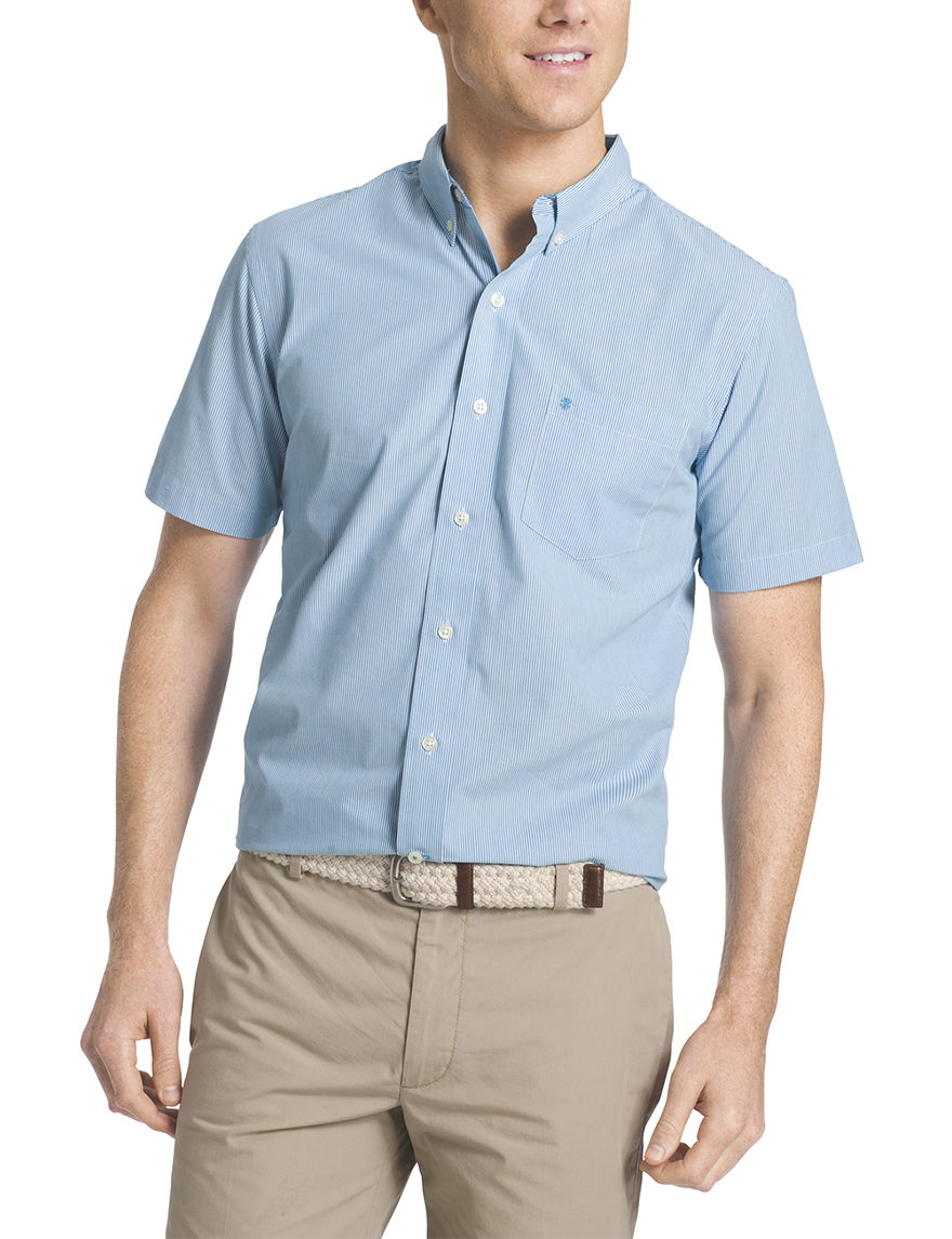 Izod Bluejay Casual Button Down Shirts