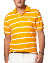 Chaps Orange & White Classic Stripe Shirt
